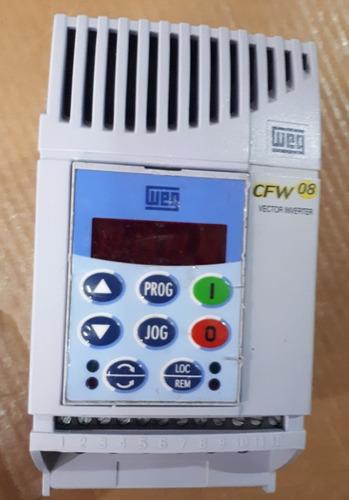 inversor de frequência weg cfw08 2cv