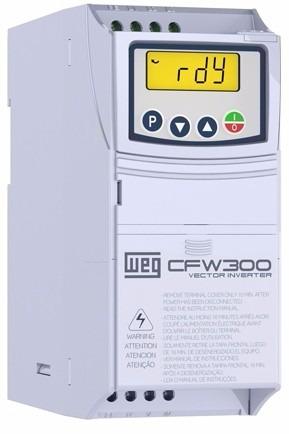 inversor de frequência weg cfw300 0,5cv 220v 2,6a 13059320