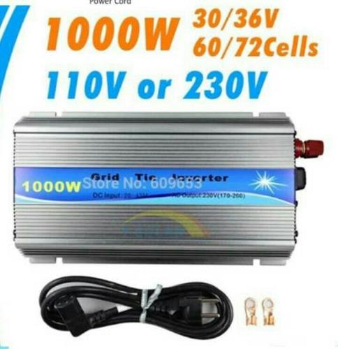 inversor de interconexion a cfe1000 watts - paneles solares