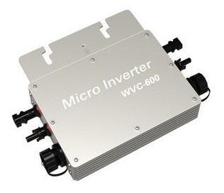 inversor de interconexion exterior cfe 600w panel solar