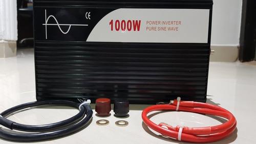inversor de onda pura 1000w original garantizado con display