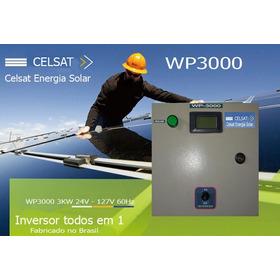 Inversor De Tensão Senoidal Pura 24v 127v 60hz