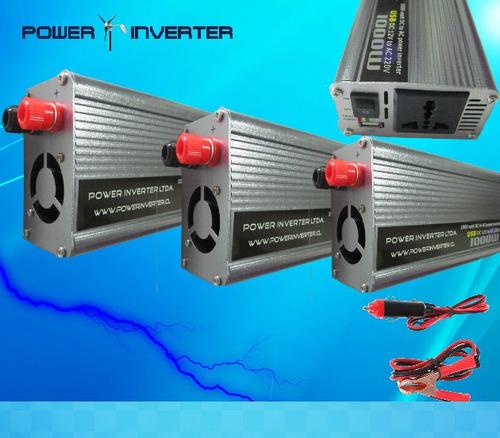 inversor de voltaje 12vdc/220vac 1000w