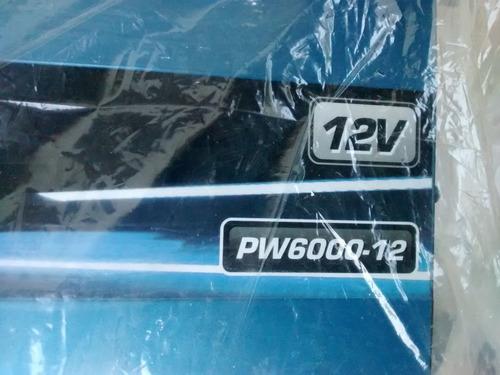 inversor de voltaje de 12v a 110v 6000 watts/12000 w pico