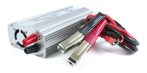 inversor de voltaje de 12vdc a 110vac de 700w con cablecobre