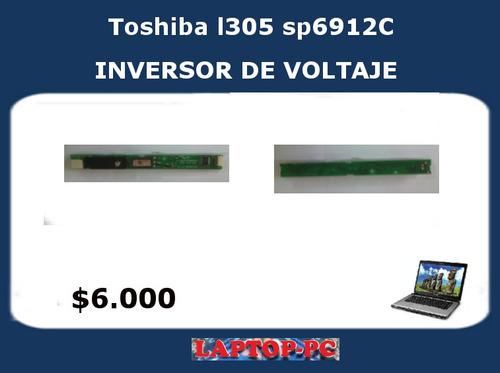 inversor de voltaje toshiba satellite l305 sp6912c