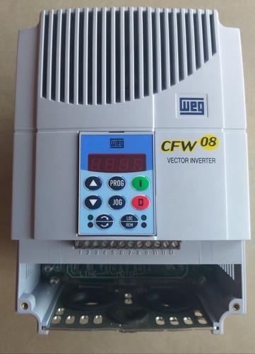 inversor  frequencia weg cfw08 7,5cv 380 v