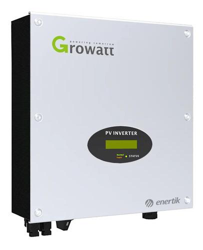 inversor growatt para conexión a red - 5500w - enertik