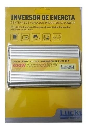 inversor lucky 300w 12v 110v conversor solar envio rápido