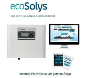Inversor On Grid Ecosolys 2k Plus + Webbox Wifi