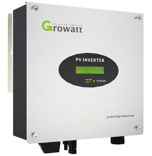 inversor on grid growatt de 4200w (modelo: 4200mtl-s)