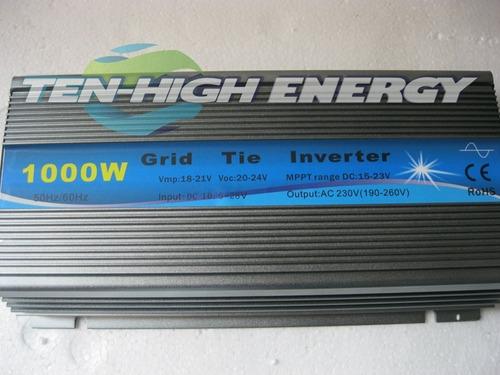 inversor on grid tie 1000w entrada12 volt saida 220 volts