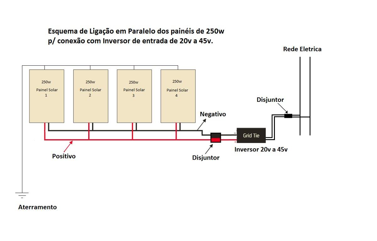 Inversor On Grid Tie 20v A 40v 1000w 110 220v R 1 150