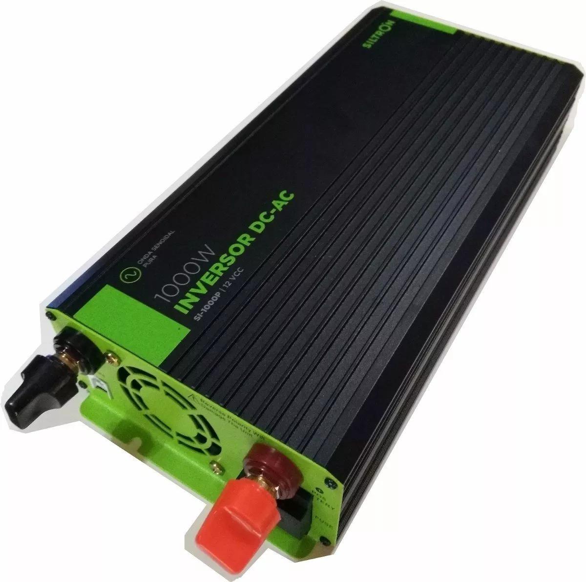 1000W 2000 Watt Inversor onda pura 12V a 220V Power Inverter Converditor Camper