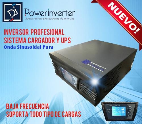inversor pura cargador ups baja frecuencia 24v/220vac 1000w