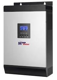 inversor senoidal 2400w 24v cargador y reg mppt 60a msxe