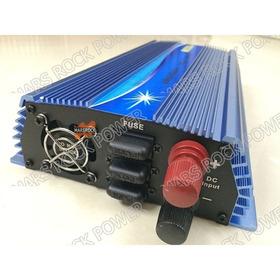 Inversor Solar 1000w 12v 24v 110v  60hz Grid Tie Onda Pura