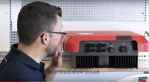 inversor solar alemão sma sunny boy 3kw 3000w 220v 2mppt