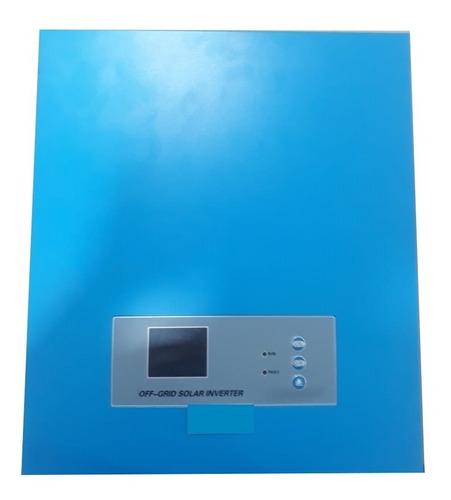 inversor solar - cargador mppt - ups 500w , lcd 120v ac
