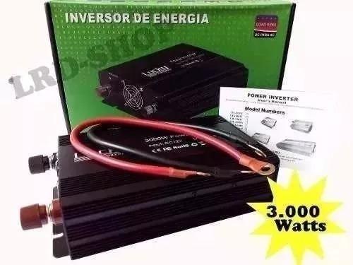 inversor solar lucky 3000w 24v 110v 60hz pronta entrega