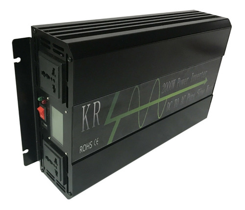 inversor solar  senoidal pura 2000w pico 4000w 12v 110v