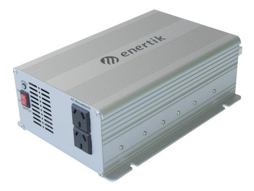 inversor transformador conversor 12v a 220v - 1000w  enertik