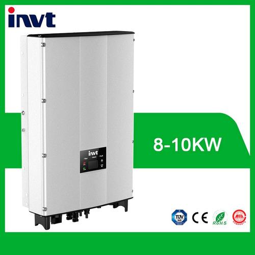 inversor trifasico 8kw on-grid 380v kit solar invt bg8ktr
