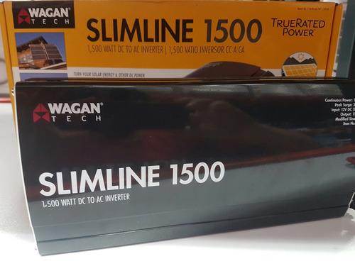 inversor wagan 1500 watt 3500 sin usar