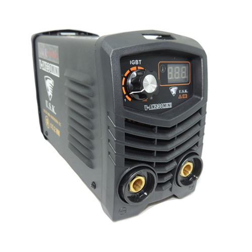 inversora v-ak230 mini solda elétrica mma display 220v usk