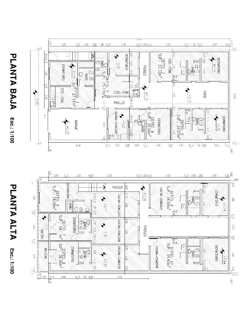 inversores! propiedad con 10 departamentos en venta!