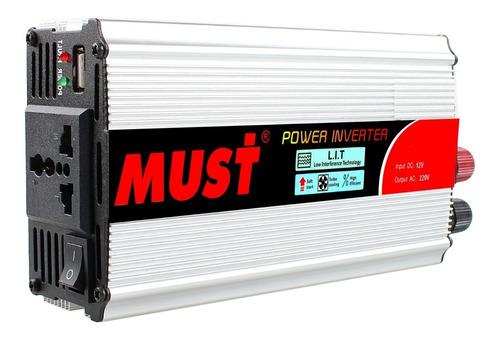 inverter conversor 1000 w 12v a 220v ideal para kit solar panel solar onda modificada oferta