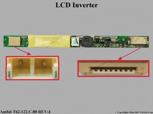 inverter notebook travelmate 512dx pn:t62.121.c.00