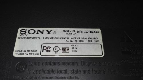 inverter para sony lcd kdl-32bx330 t991089.01 072-1001-2325