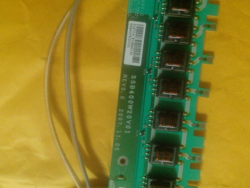 inverter ssb400w20v01 tv samsung ln40a650