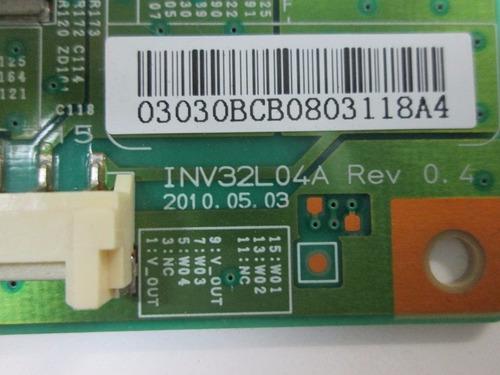 inverter toshiba sti le3250 (a)wda cód. inv32l04a rev:0.4