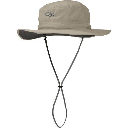investigación al aire libre helios sun hat, khaki, l