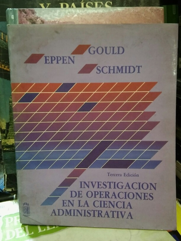 eppen gould investigacion operaciones