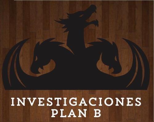 investigaciones privadas - plan b
