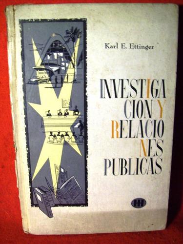 investigaciones y relaciones publicas karl ettinger méxico