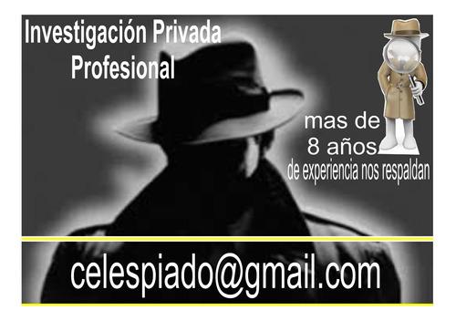 investigador privado profesional detectives