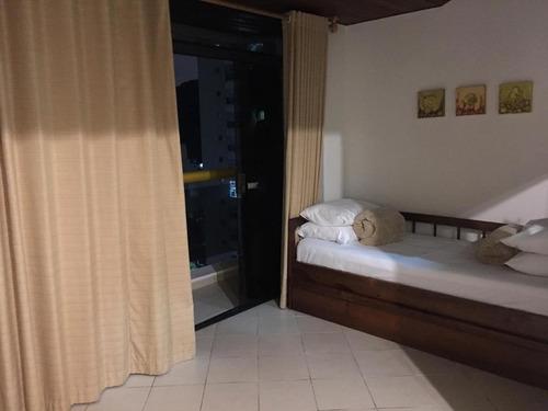 investimento - flat mobiliado para venda golden beach residence service praia das pitangueiras - guarujá. - fl0054