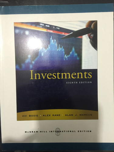 investments eighth edition 978007126323252