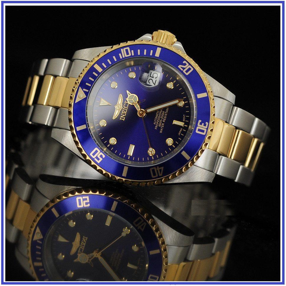 7794c9716247 invicta 8928ob pro diver reloj automático baño de oro 23k. Cargando zoom.
