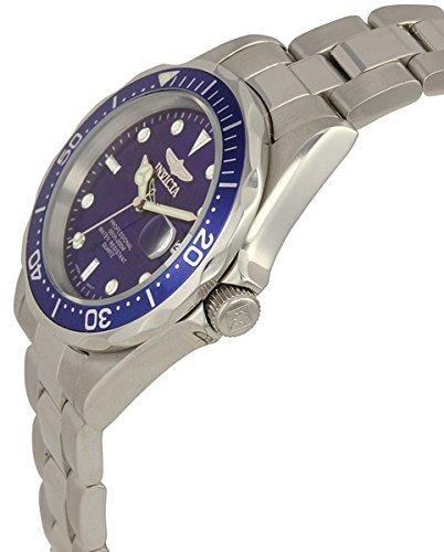 invicta 9204 coleccion pro diver reloj plateado