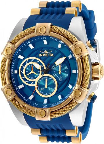 invicta bolt 25529  cronografo reloj de hombre 52mm