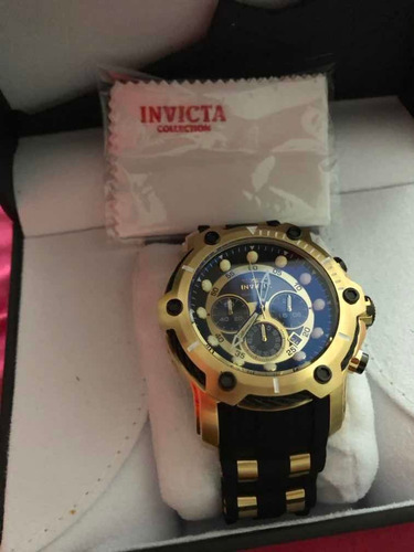 invicta bolt chronografic - 26751- original