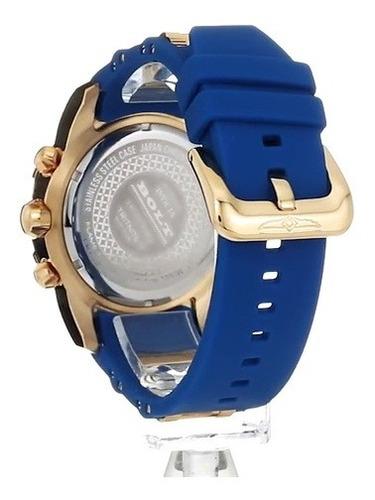 invicta 'bolt' oro y de cuarzo reloj casual, color: dos ton