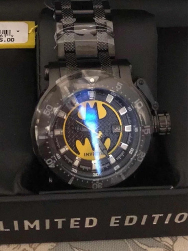 invicta dc comics batman coalition forces limitado 52mm
