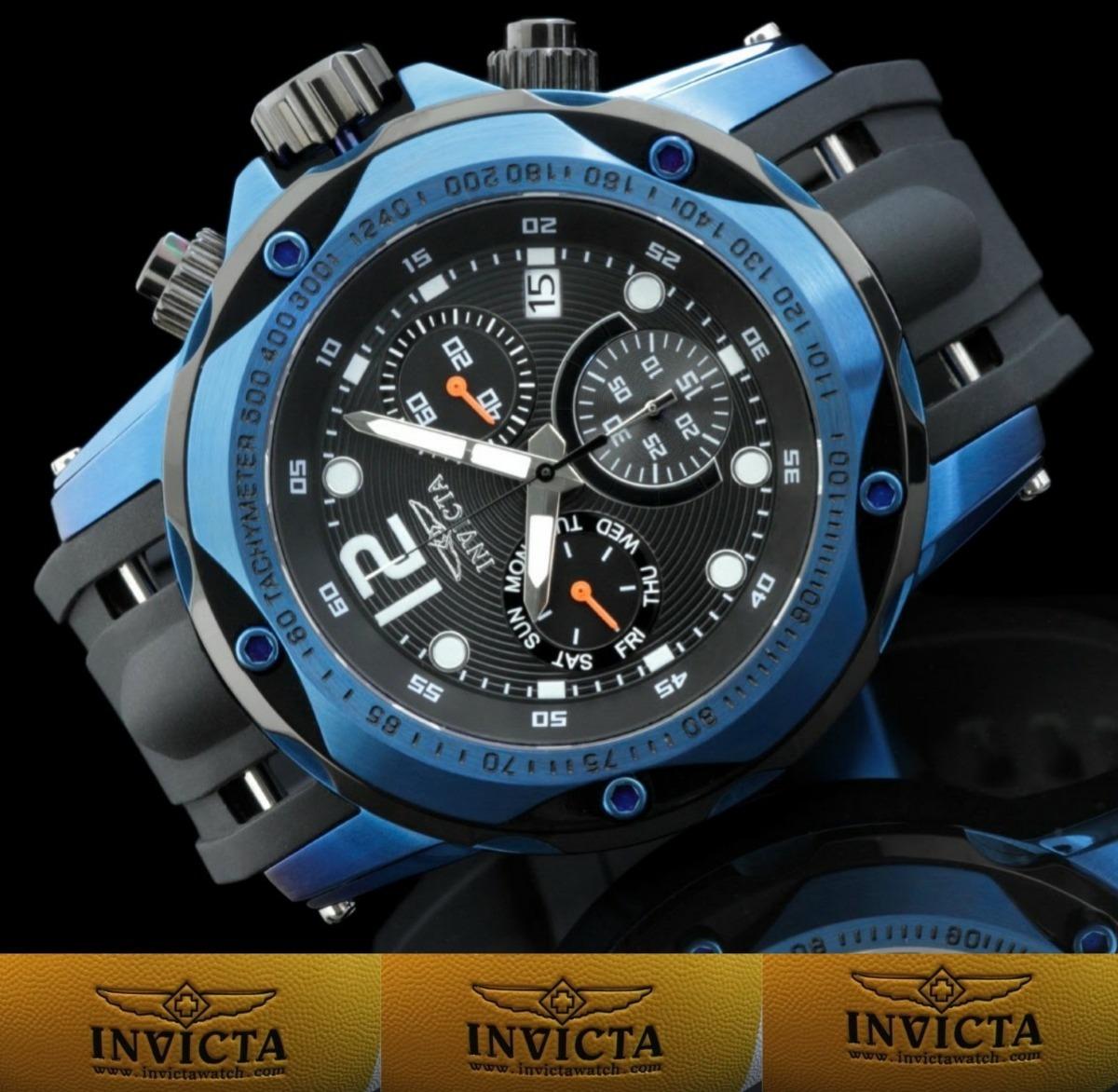 7804400ca9a Invicta Especial Speedway 20074 Grande  Original Suíço. - R  1.799 ...