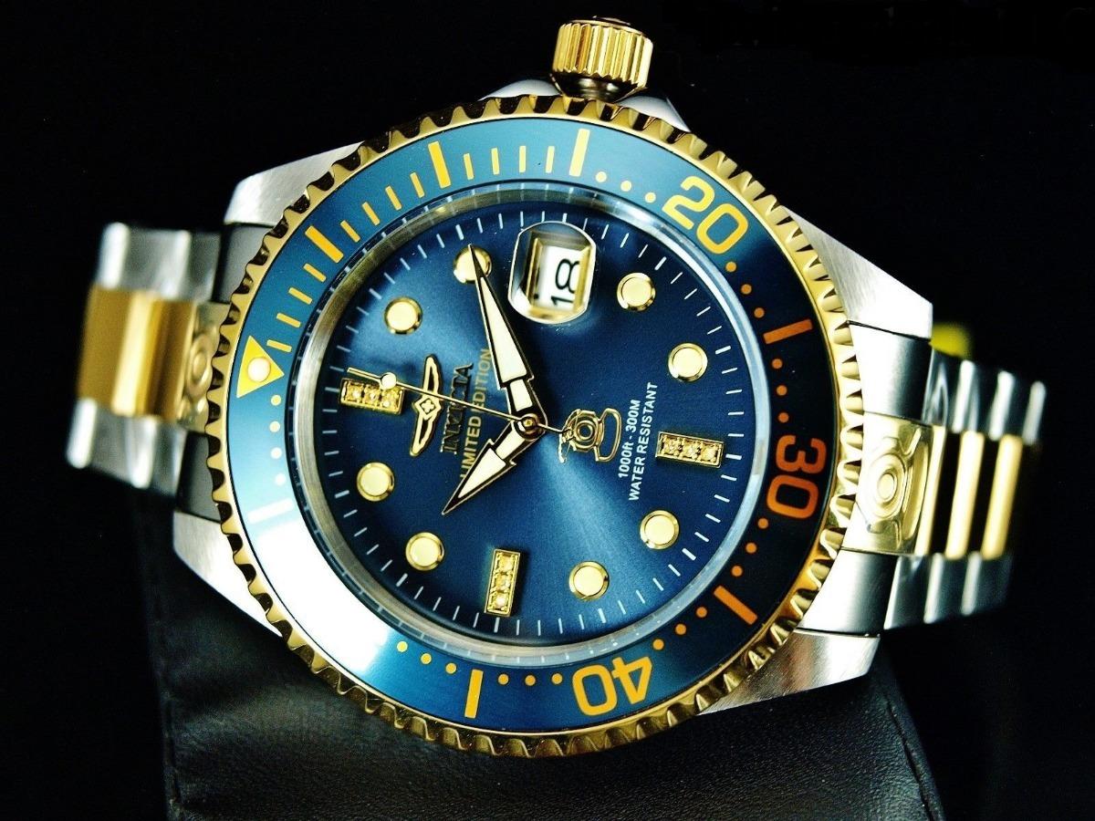 fefe8d2aafa invicta grand diver automatico diamantes rolex tissot inox. Carregando zoom.